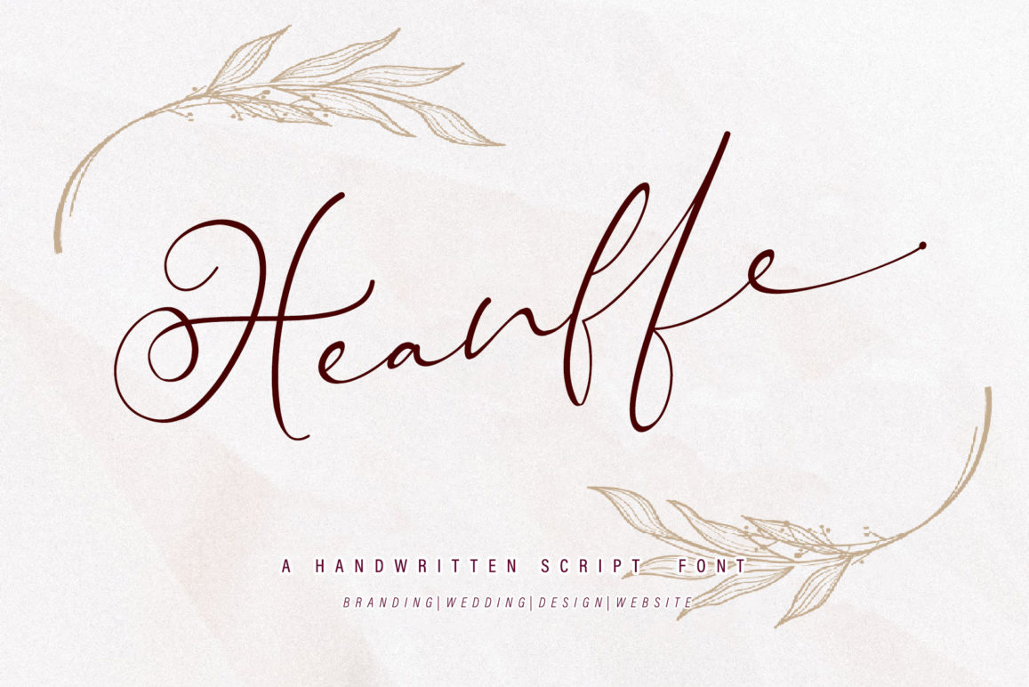 Free Heanffe Font Header 1