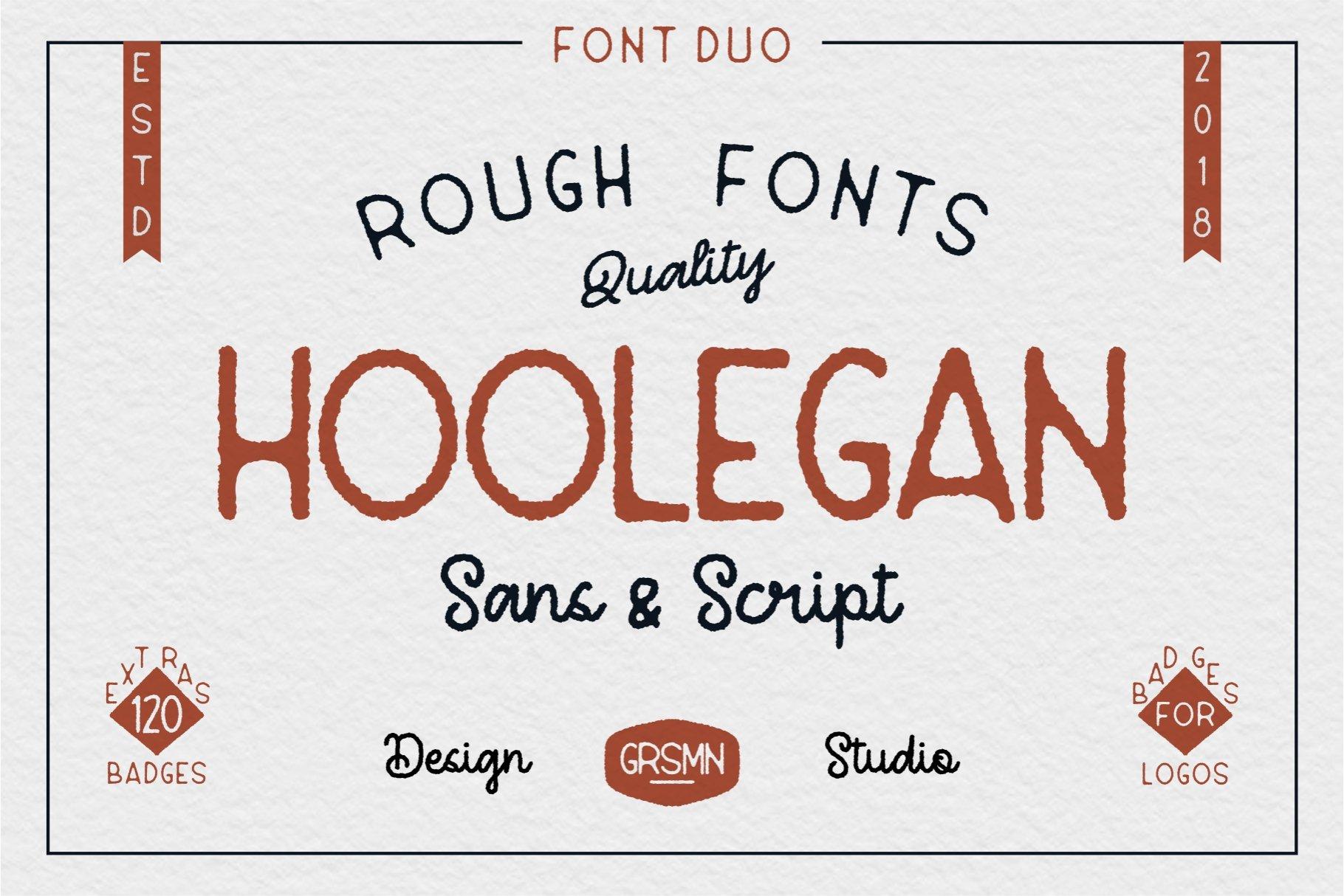 Hoolegan Font Header 1