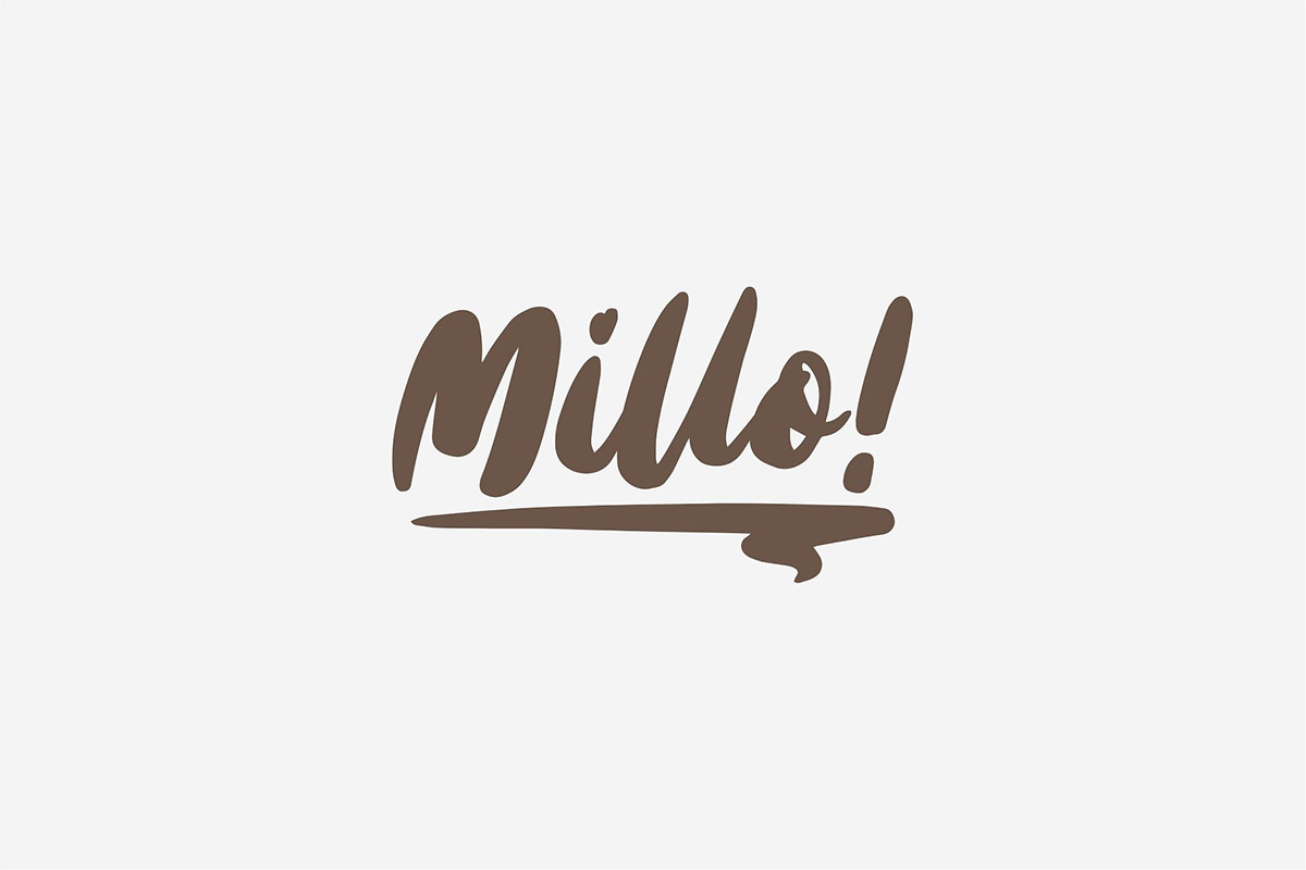 Millo Font Header 1