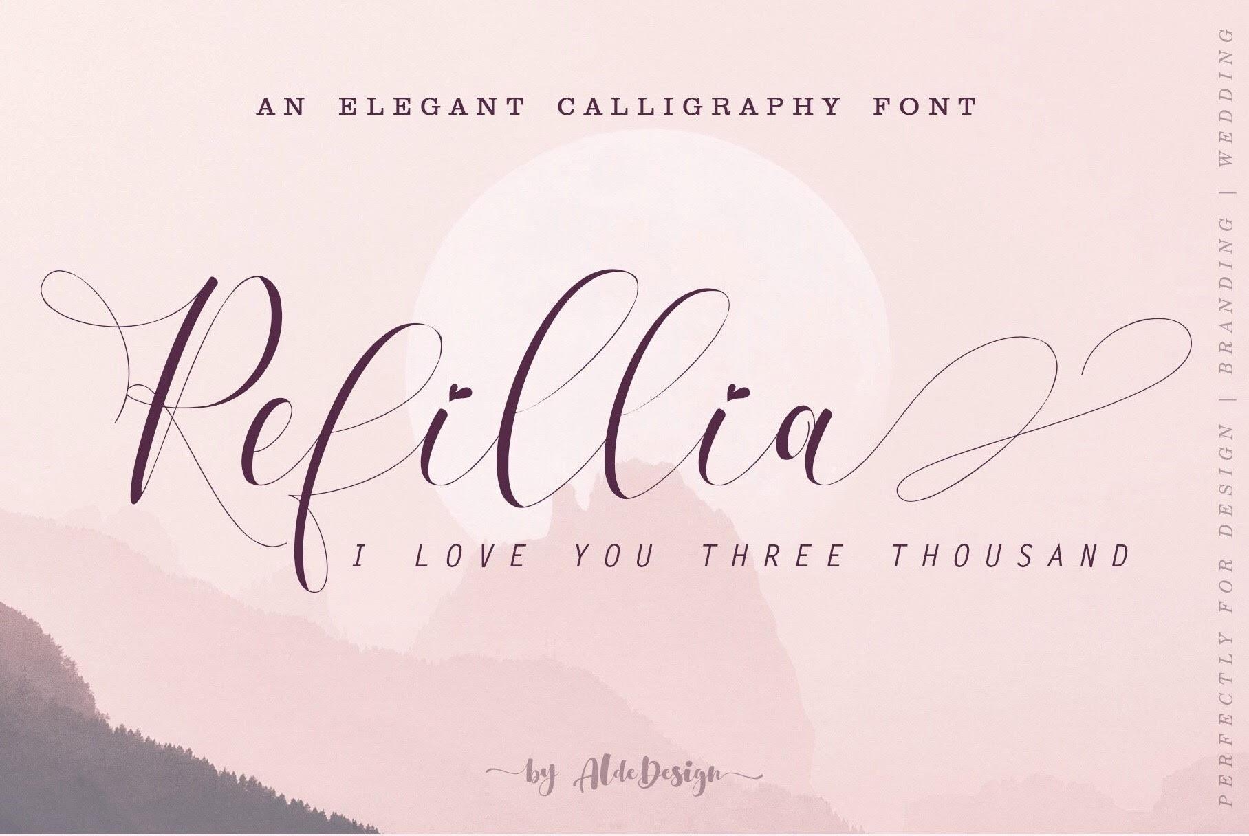 Refillia Font Main Header Image