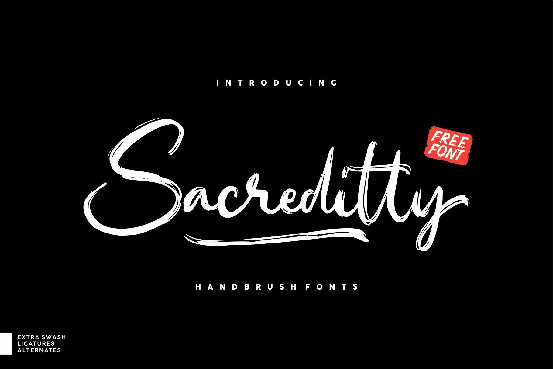 Sacreditty Font Header 1