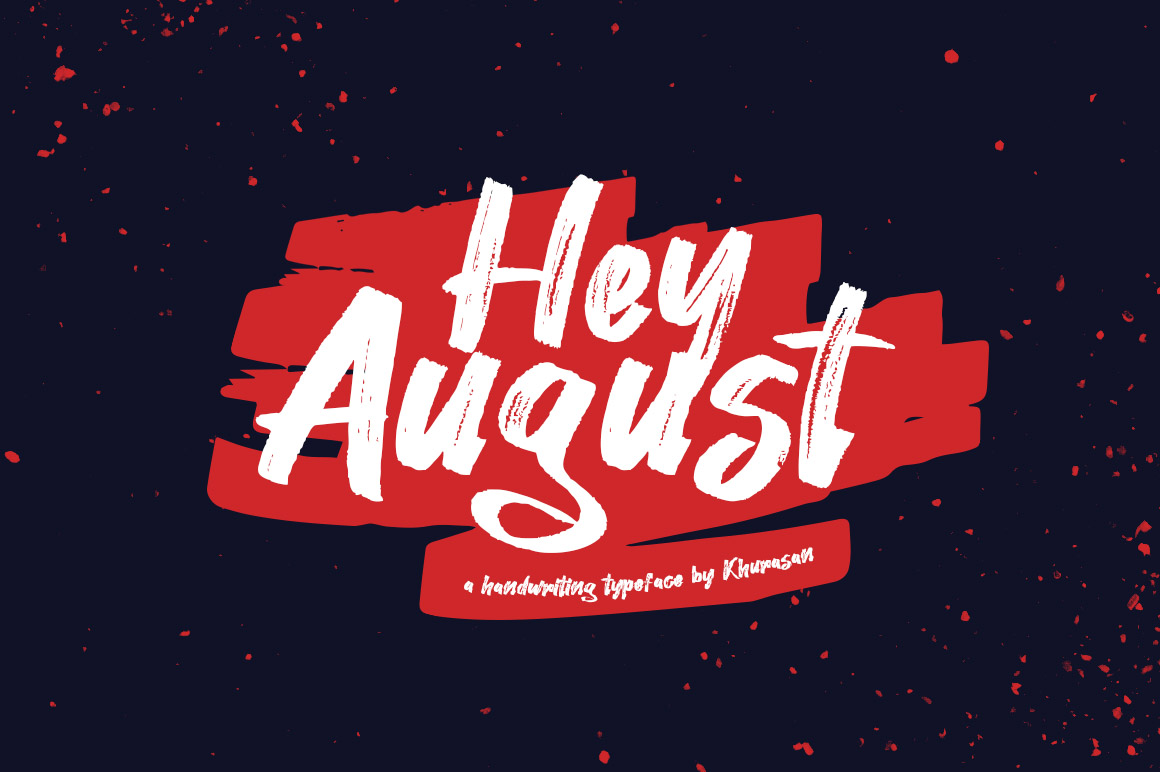 Hey August Solo Header